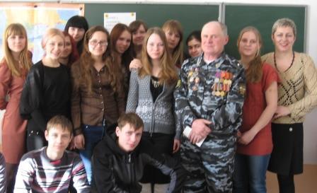 встреча в бродковской школе